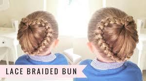 Judaai Ke Design Lace Braided Bun By Sweethearts Hair
