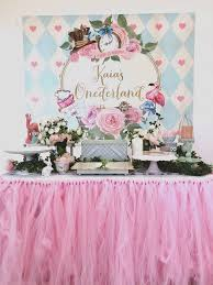 Alice In Wonderland Party Dessert Table Decor Everything Else On