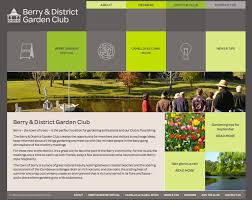 Berry Garden Club Website Handmade Web Design Inspiration Garden Web Design Design