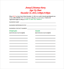 Party Sign Up Sheet Template 27 Sample Sign Up Sheet Templates Pdf Word Pages Excel