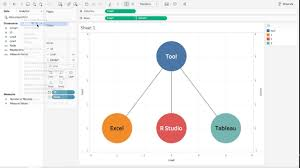 Tableau Tree Chart Tableau Tutorial 44 Simple Network Graph And Easiest Data Preparation