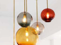 great startling beautiful hand blown glass pendant lights