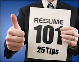 Tips On How To Write A Resumes Resume 101 25 Tips To Writing A Resume Chcp Blog