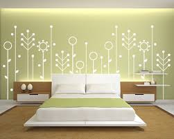 Paint Designs For Bedroom For goodly Wall Paint Designs For Bedrooms  Digihome Image