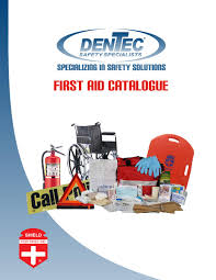 Dentec Safety Specialists First Aid Catalogue By Dentec