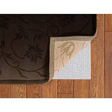trafficmaster deluxe 2 ft x 7 ft non slip safety rug to floor