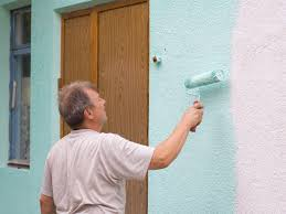 this is how to paint stucco walls the