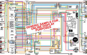 1969 pontiac lemans tempest & gto color wiring diagram 1969 Chevelle Wiring Diagram classiccarwiring sample color wiring diagram 1969 chevelle wiring diagram free