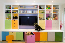 5 playroom storage ideas to toys in while having them decorate