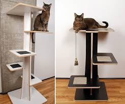 cool cat tree furniture. Stylish Cat Tree Banish The Ugly Beige Carpet Check Out These Cool Trees Catster Furniture