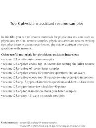 Resume Objective Medical Assistant Medical Assistant Goal Examples ...