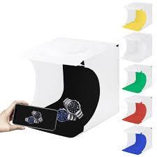 تسوق <b>PULUZ 20cm Folding</b> Portable 550LM Light Photo Lighting ...