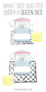area rug under bed rugs beds for the best 8x10 queen how to place a bedroom rug 8 x pad thick size under queen bed