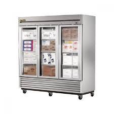 true ts 72fg ld 3 glass door bottom mount reach in freezer