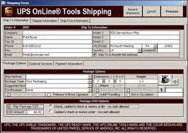 Online Shipping Labels Printing Integrated Ups Or Fedex Shipping Labels