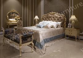 pl bed neo classical bedroom sets antique bedroom furniture kingbed solid wood bed fb 138