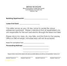 Notice To Vacate Letter Tenant To Landlord Notice Vacate Template Uk Letter Move Out Assured