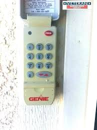 genie garage door remote opener battery replacement instructions acsctg type 1 pro programming