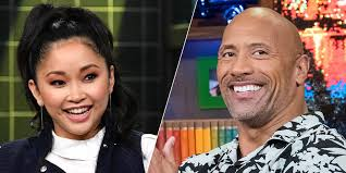 She made her film debut in люди икс: Lana Condor And The Rock S Cute Twitter Exchange Lana Condor Freaks Out After The Rock Tweets Her