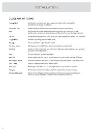 Trex Span Chart