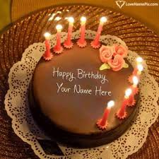 Happy Birthday Cake Images With Name Generator Online