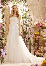 morilee bridal madeline gardner romantic wedding dress with