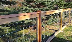wire fence ideas. Hog Wire Fence Ideas D
