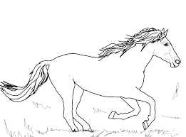 Printable Coloring Pages Horses Horse Coloring Pages Printable