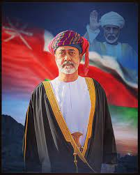 """Vogue Fashion Al Khodh - 50 years this day, the late Sultan Qaboos bin Said  bin Al Said made a promise """"Yesterday it was complete darkness and with the  help of God,"""