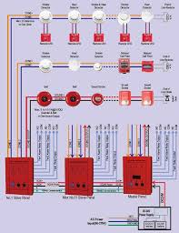 27 best fire fighting and fire warning system images on pinterest firelite annunciator 41d2 at Fire Alarm Annunciator Wiring Diagram