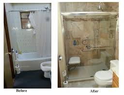 Two Rivers Home Remodeling Company Master Builders Senior Enchanting Bathroom Remodel Before And After Pictures Exterior