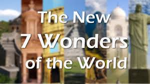 the new wonders of the world