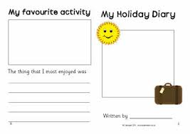 essay about summer holidays