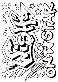 Small Picture Graffiti coloring pages shooting star ColoringStar