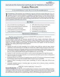 Cool Best Account Payable Resume Sample Collections Resume