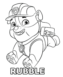 Paw Patrol Ryder Coloring Page L3928 Coloring Pages Of Paw Patrol