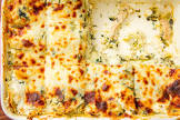 chicken   artichoke lasagne