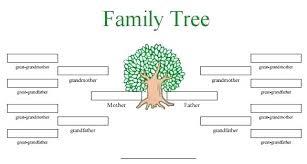 Blank Family Tree 4 Generations Printable Family Tree Sheets Raagasoulspa Info