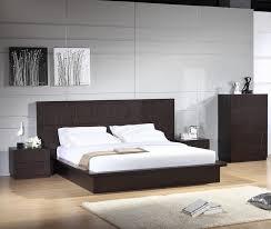 modern platform bed wood. Contemporary Platform Bed Modern Wood I