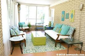 diy sunroom room backstory our house has a enclosed back porch aka just outside our family