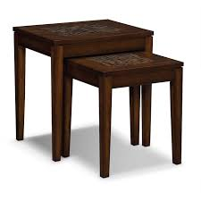 nesting furniture. Accent And Occasional Furniture - Carson Nesting Tables Brown