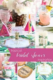 Tropical Bridal Shower Inspiration Hill City Bride Virginia