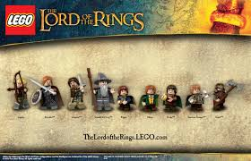 Lego Lord Of The Rings Designs Lego Lord Of The Rings Character Images And Gollum Poster