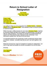 How To Write A Resigning Letter Resignation Letter Samples Free Downloadable Letters