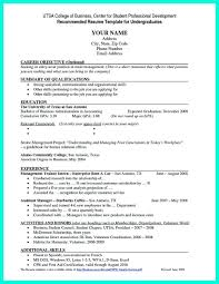 Resume Samples For College Students Fresh Current College Student