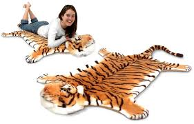 fake tiger rug on line gadgets gadget life e tiger rug real gadgets toys