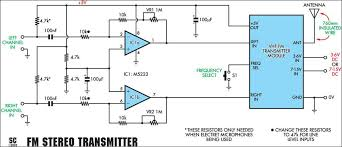 microphone circuit diagram ireleast info quality stereo wireless microphone or audio link circuit diagram wiring circuit