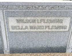"Isabella Priscilla ""Bella"" Ward Fleming (1859-1929) - Find A Grave Memorial"