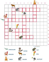 Des heures de plaisir et d'amusement avec des centaines de petits jeux à imprimer : Mots Croises Grille 8 Pour La Maternelle Animaux
