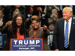 Image result for trump diamond and silk